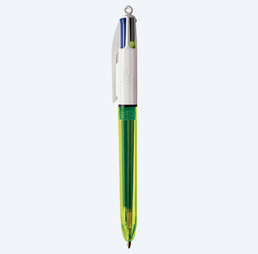 BIC 4 COLORS FLUO